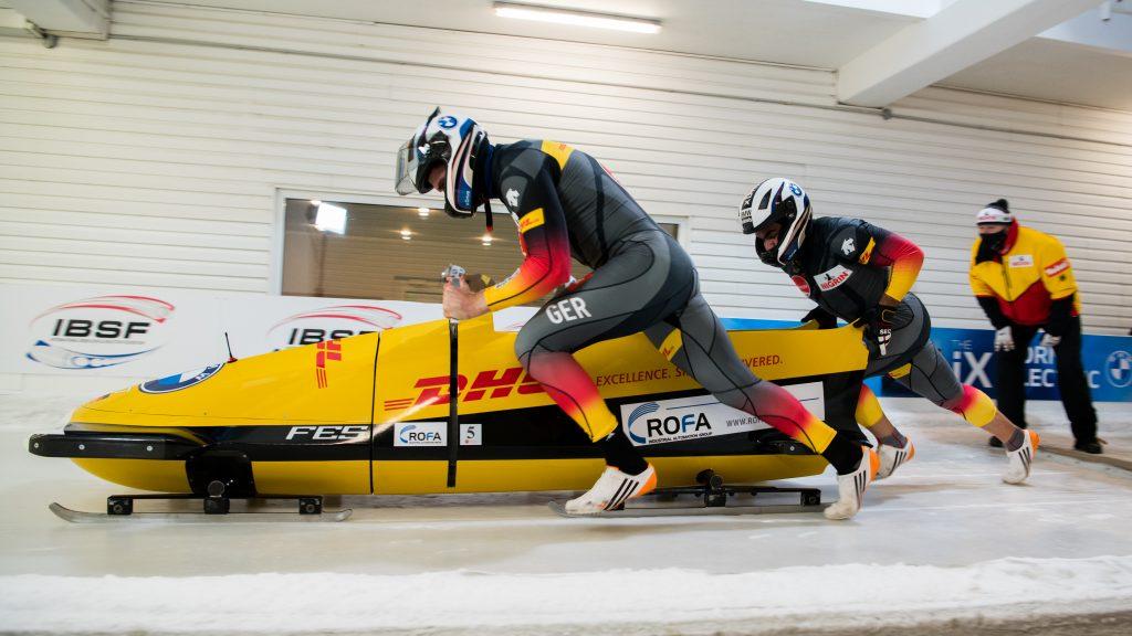 Von null auf drin unter fünf Sekunden: Christoph Hafer und Issam Ammour (rechts)